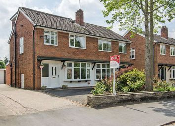 Thumbnail 4 bed semi-detached house for sale in Park Road, Alrewas, Burton-On-Trent
