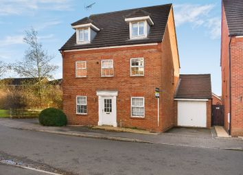Thumbnail 5 bed detached house to rent in Navigation Drive, Glen Parva, Leicester