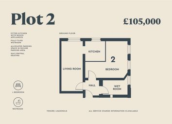 Thumbnail 1 bed maisonette for sale in The Old School, Marshall Street, Hull