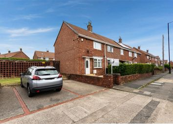 Thumbnail 2 bed end terrace house for sale in Redcar Road, Sunderland, Tyne And Wear
