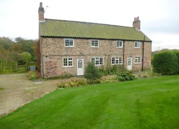 Thumbnail 3 bed semi-detached house to rent in Warren House Farm, Brandsby, York