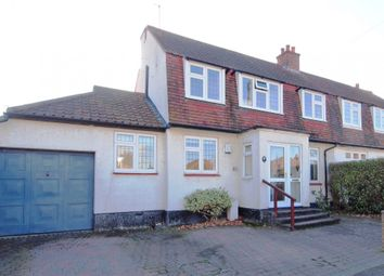 Thumbnail 3 bed semi-detached house for sale in Corbet Road, Ewell Village