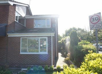 Thumbnail 1 bed semi-detached house to rent in Sorrel Close, Padgate, Warrington
