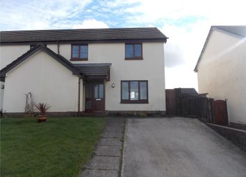 Thumbnail 3 bed semi-detached house for sale in Martin Close, Redruth
