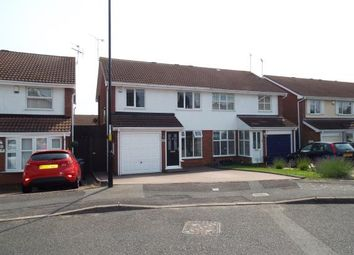 Thumbnail 3 bedroom semi-detached house for sale in Eacott Close, Coventry, West Midlands