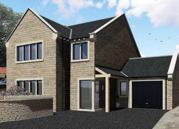 Thumbnail 4 bed detached house for sale in Marsh Platt, Honley, Holmfirth