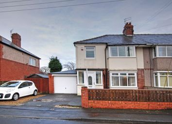 3 bed semi-detached house for sale in Meadowfield Avenue, Newcastle Upon Tyne NE3