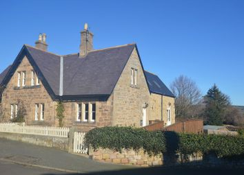 Thumbnail 3 bedroom semi-detached house for sale in Church Hill, Alnwick, Northumberland