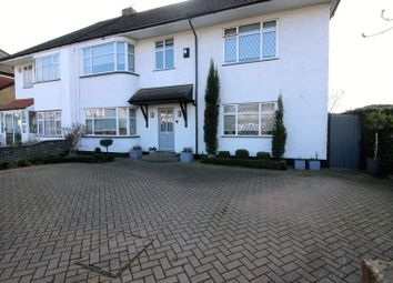 Thumbnail 5 bed semi-detached house for sale in Furzehill Road, Borehamwood