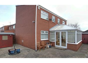 Thumbnail 3 bed end terrace house for sale in Alpine Grove, East Boldon