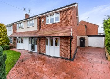 Thumbnail 4 bed semi-detached house for sale in Cheriton Avenue, Adwick-Le-Street, Doncaster