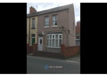 Thumbnail 2 bed end terrace house to rent in Hall St, Wrexham