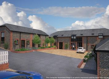 Thumbnail 4 bed barn conversion for sale in White Dirt Lane, Clanfield, Waterlooville