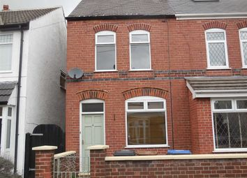 Thumbnail 2 bed semi-detached house to rent in Victoria Road, Burbage, Hinckley
