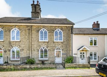 Thumbnail 3 bed terraced house for sale in The Street, Marham, King's Lynn