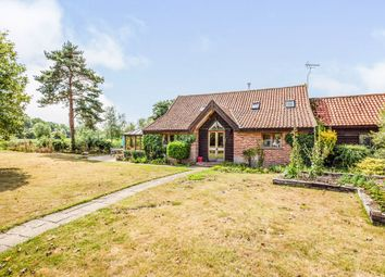 Thumbnail 4 bed barn conversion for sale in Old Railway Road, Earsham, Bungay