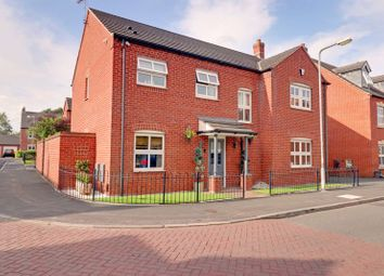 Thumbnail 5 bed detached house for sale in Rogerson Road, Fradley, Lichfield
