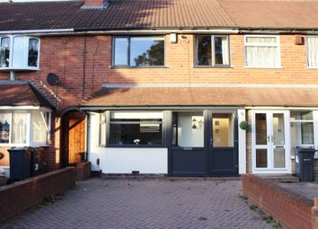 Thumbnail 3 bedroom terraced house for sale in Grindleford Road, Great Barr, Birmingham