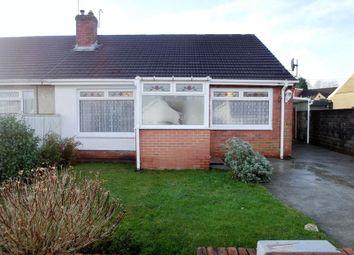 Thumbnail 3 bed semi-detached bungalow for sale in Brynteg, Llansamlet, Swansea