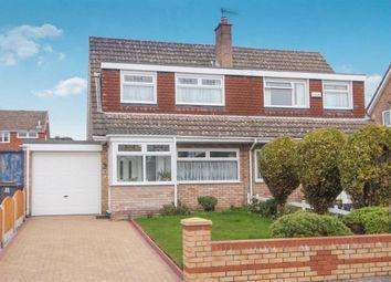 Thumbnail 3 bed semi-detached house to rent in Churton Avenue, Prenton