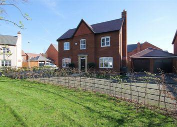 Thumbnail 4 bedroom detached house for sale in Sergeant Drive, Paddington, Warrington