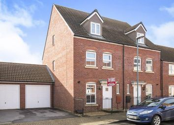 Thumbnail 3 bed semi-detached house for sale in Sapphire Way, Brockworth, Gloucester, Gloucestershire