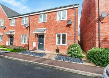 Thumbnail 3 bedroom end terrace house for sale in Hillfield Road, Oundle, Peterborough