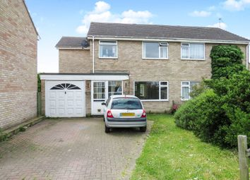 Thumbnail 4 bed semi-detached house for sale in Lupin Way, Needham Market, Ipswich