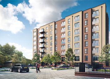 Thumbnail 1 bedroom flat for sale in Griffin Court, Saxon Square, Luton, Bedfordshire