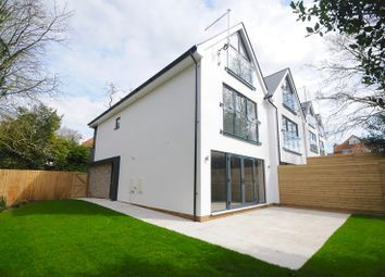 Thumbnail 4 bedroom semi-detached house for sale in Danecourt Road, Lower Parkstone, Poole