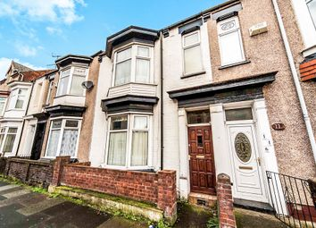 Thumbnail 3 bedroom terraced house for sale in Cornwall Street, Hartlepool