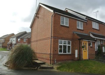 Thumbnail 3 bed town house for sale in Fisher Close, Sutton-In-Ashfield