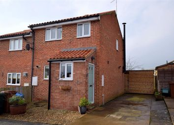 Thumbnail 2 bed end terrace house for sale in Oak Close, Kirkbymoorside, North Yorkshire