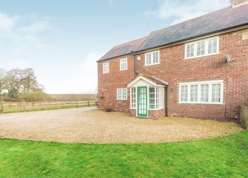 Thumbnail 4 bedroom cottage to rent in Chapel Lane, Bucklow Hill, Knutsford