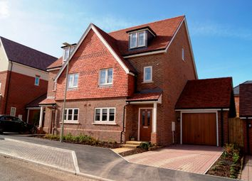 Thumbnail 3 bed semi-detached house for sale in Baldwin Close, Hartley Wintney, Hook