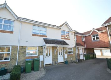 Thumbnail 2 bed terraced house to rent in Danesfield Close, Walton-On-Thames, Surrey