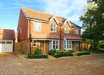 Thumbnail 3 bed semi-detached house to rent in Landau Close, Pease Pottage, Crawley