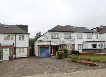 Thumbnail 4 bedroom semi-detached house for sale in Woodlands Close, London