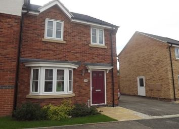 Thumbnail 3 bed property to rent in Woodgate Drive, Chellaston