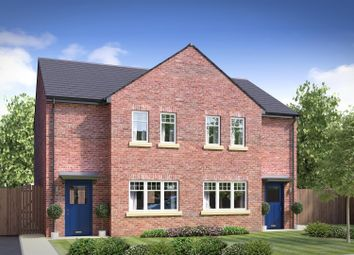 Thumbnail 3 bed semi-detached house for sale in The Clovers, Manor Way, Crewe