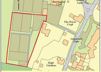 Thumbnail Land for sale in Land Storrington Tennis Club, Greyfriars Lane, Storrington, Pulborough, West Sussex