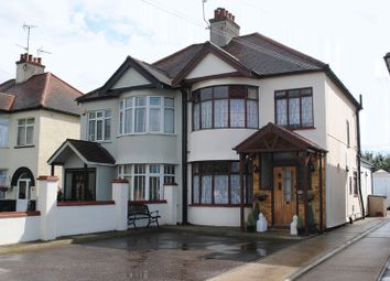 Thumbnail 3 bed semi-detached house for sale in Rayleigh Road, Eastwood, Leigh-On-Sea