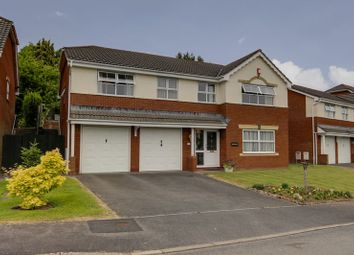 Thumbnail 5 bed detached house for sale in Langstone Rise, Langstone, Newport