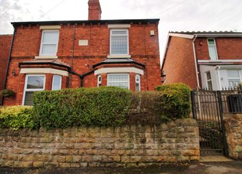 Thumbnail 3 bed semi-detached house to rent in Wood Lane, Hucknall, Nottingham