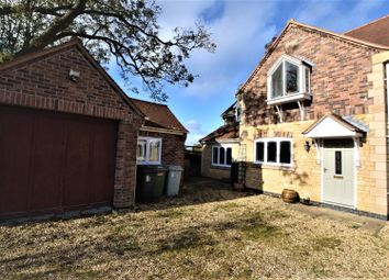 Thumbnail 4 bed semi-detached house for sale in Willow Close, Whissendine, Oakham