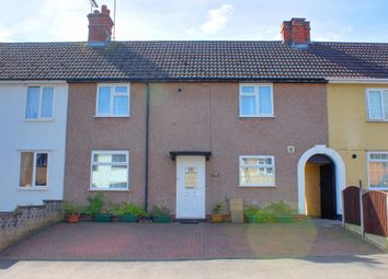 Thumbnail 2 bed terraced house for sale in Manor Road, Uttoxeter