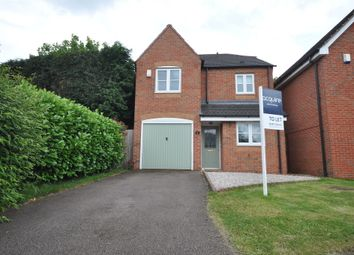 Thumbnail 3 bed detached house to rent in Bretby Heights, Newhall, Derbyshire