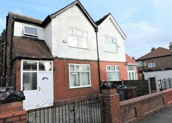 Thumbnail 3 bedroom semi-detached house for sale in Clarence Road, Longsight, Manchester