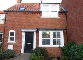 Thumbnail 2 bed terraced house to rent in The Oaks Wapping, Ormesby, Great Yarmouth