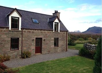 Thumbnail 3 bed detached house for sale in Croft, Poolewe, Achnasheen